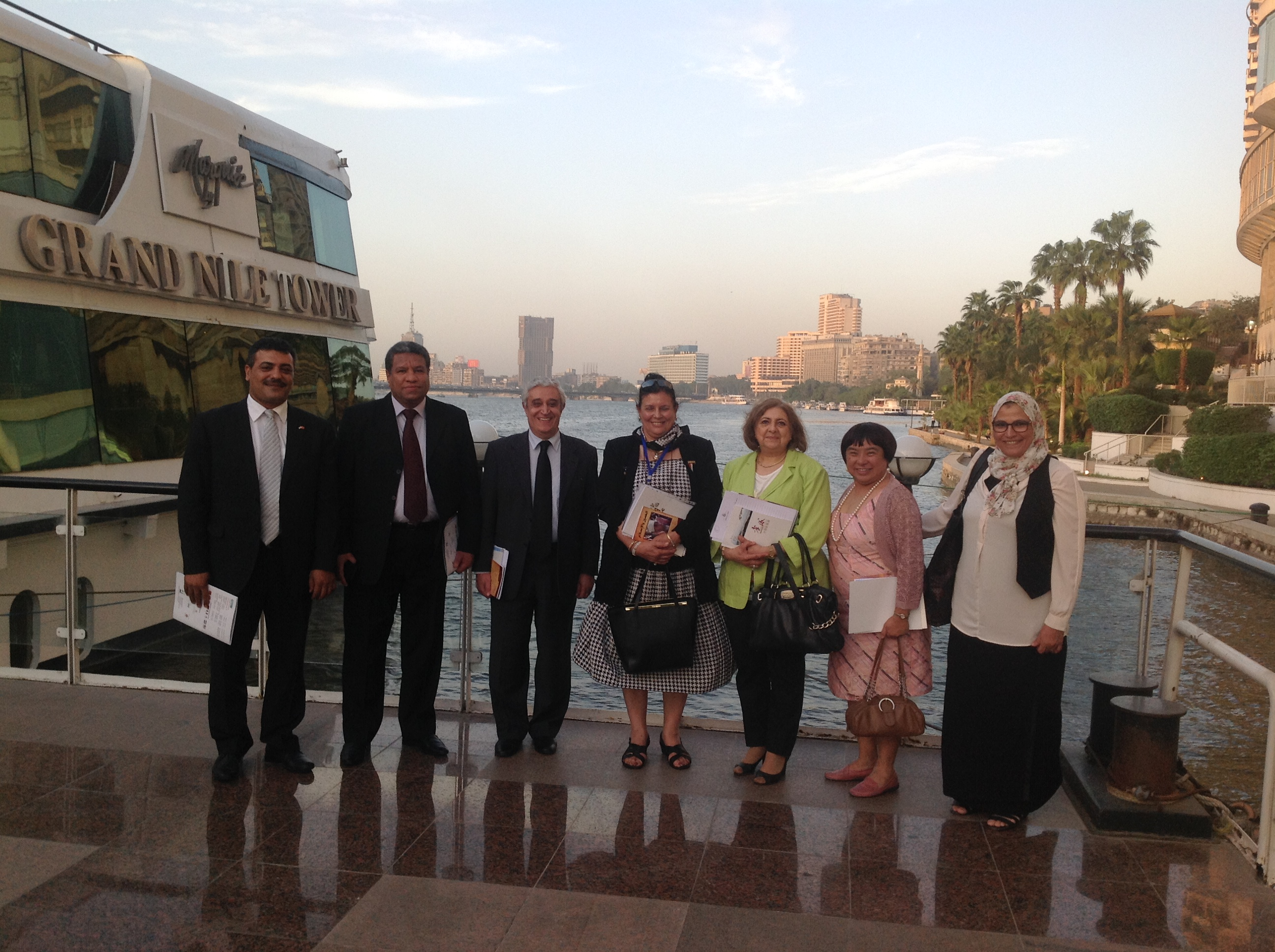 The cooperation and exchange between Egypt and Hubei province